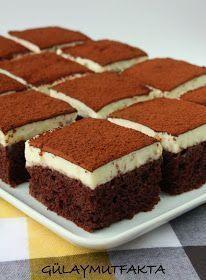 Altında nemli kakaolu bir kek üzerinde ise muhteşem bir krema ile damakları şenlendirecek bir tarif:) malzemeler kek için; 2 adet yumur...