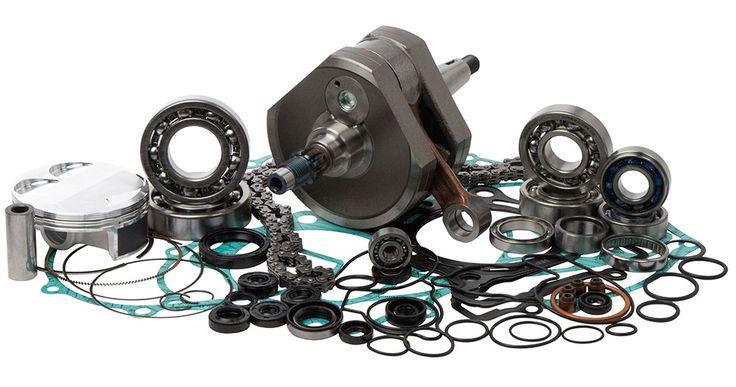 Wrench Rabbit Complete Engine Rebuild Kit for 2011-13 Kawasaki KX250F