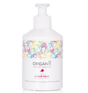 Certified Organic Rose Liquid Soap