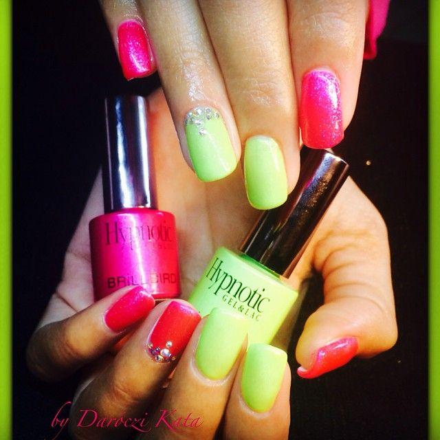 köröm, műköröm, nail, nails, nailart, nagel, unghie, nailaddict, fashion, mode, divat, tavasz, spring, gel lakk, gél lakk, Hypnotic