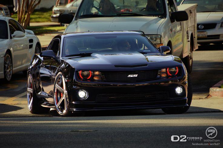 Black Camaros Black Camaro Ss D2forged Cv2 Deep