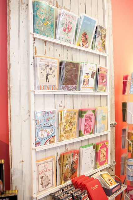 cards display - yummygoods
