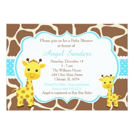 231 best Girl Baby Shower Invitations for you images on Pinterest - baby shower card template