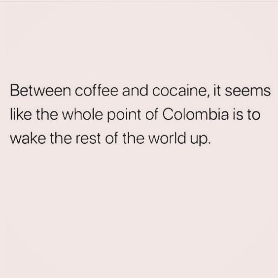 Coffee won't give me a court date or criminal record..... On the other hand, if I don't get my coffee, I may end up with both!