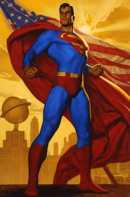 Truth, Justice, and The American Way by Glen Orbik