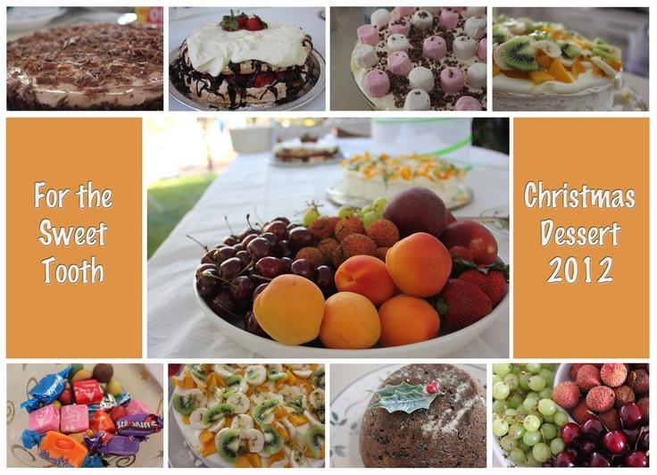 Christmas desserts 2012