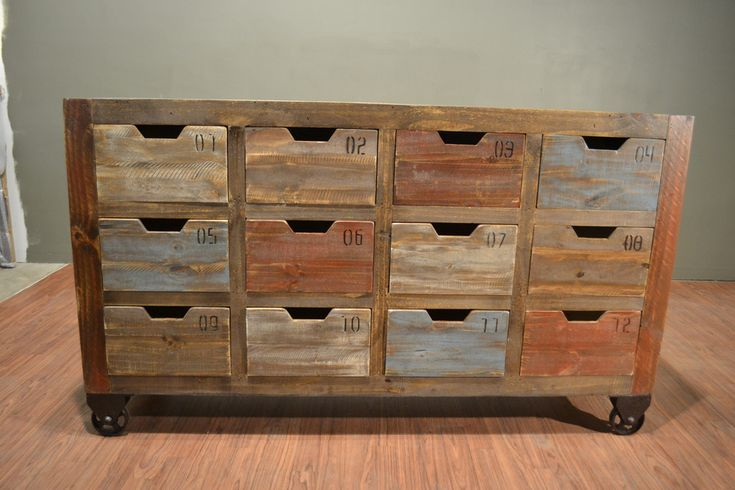 Is would make a great TV stand/DVD storage. Leave out the first row of drawers to make room for the DVD player and game console. Use modified shanty2chic media console dresser plans for this build