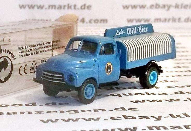 """Brekina 3524 H0 Modell """"Opel Blitz"""" Getränkewagen originalverpackt"""