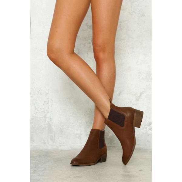 Hello Molly |  WINDSOR SMITH Ravee Boot Tan Leather - Shoes