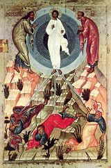 August 6.The Transfiguration- icon (Russian, 15th century)