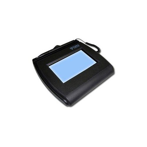 Topaz T-LBK755-BHSB-R SignatureGem LCD 4x3 Signature Capture Pad Dual Serial/USB Backlit