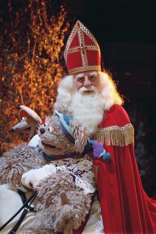 Sinterklaas in Sesamstraat