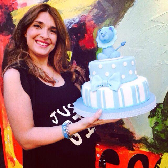 Baby Shower de la locutora Fátima Slame cele errando con divertido León