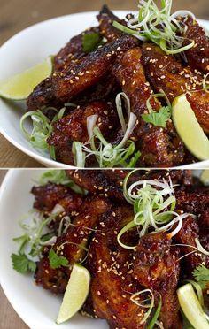 Alitas de pollo picantes (estilo Thai). Hoy os traigo una receta muy sabrosa y realmente fácil de preparar, unas alitas picantes con un toque tailandés. Espero que os guste. #cocinatailandesa #cocinothai #cocinaasiática
