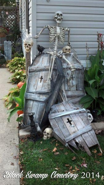 Stack Of Coffins