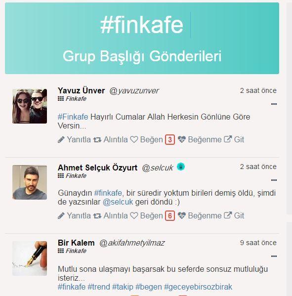 #Finkafe'de cuma coşkusu https://finkafe.com