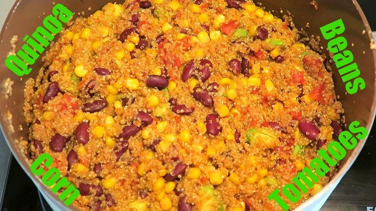 Mexická quinoa | Mexican quinoa | Vegan | Vegabund