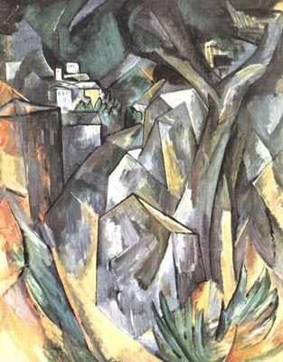 Paysage, par Georges Braque
