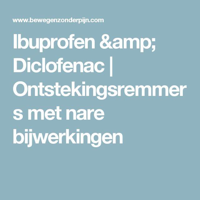 Ibuprofen & Diclofenac | Ontstekingsremmers met nare bijwerkingen