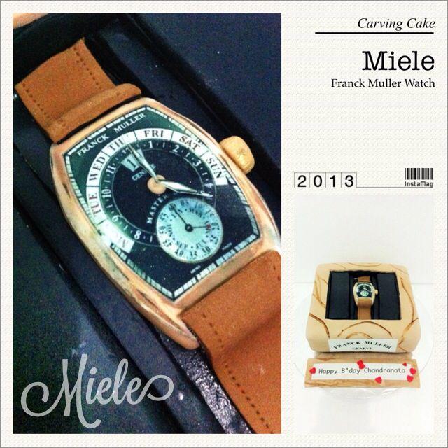 Franck Muller watch cake