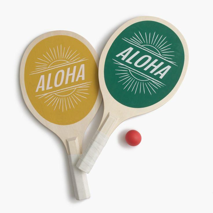 J.Crew Father's Day Shop: men's Izola™ beach tennis paddles.