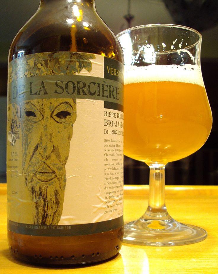 IPA De La Sorcière V.3 - Microbrasserie Pit Caribou via craftbeerquebec.ca #dégustation #bière #pitcaribou #houblon #québec #buvezfrais #bièreduquébec #brasserie #boirelocal #craftbeerqc #bièreqc #drinkcraft #craftbeer #bière #ipa #beer #brett #dipa #wildale #brettanomyces #microbrasserie #beerreview #doubleipa