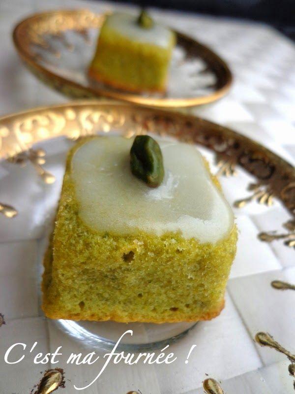 Le gâteau nantais.........à l'oriental !