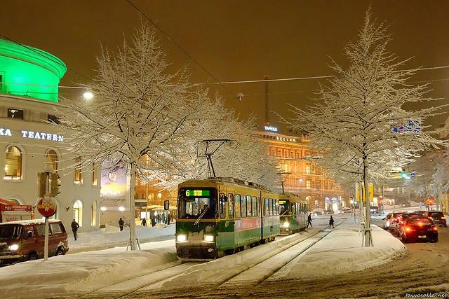 helsinki - tram