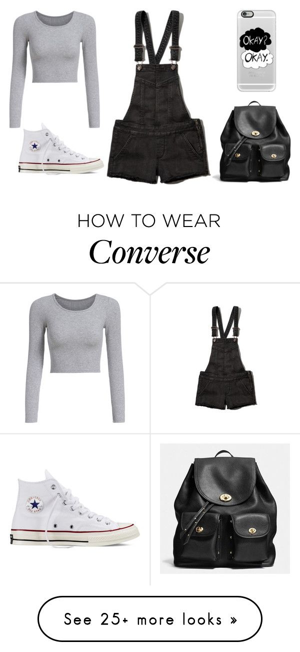 Untitled #552 by tyradecember95 on Polyvore featuring Abercrombie & Fitch, Converse, Coach, Casetify, women's clothing, women's fashion, women, female, woman and misses