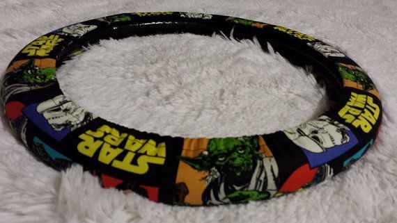 Star Wars Steering Wheel Cover Belt Cover Yoda