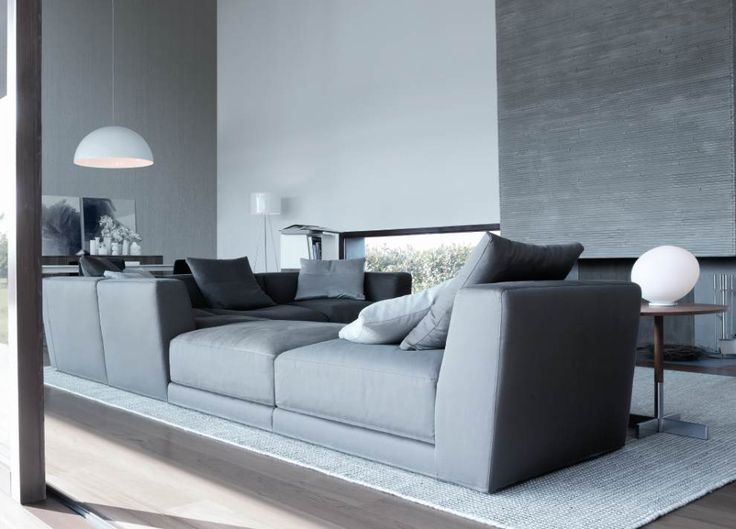 combine low and high armrest units to create a stunning sectional decoist - London Modern Furniture