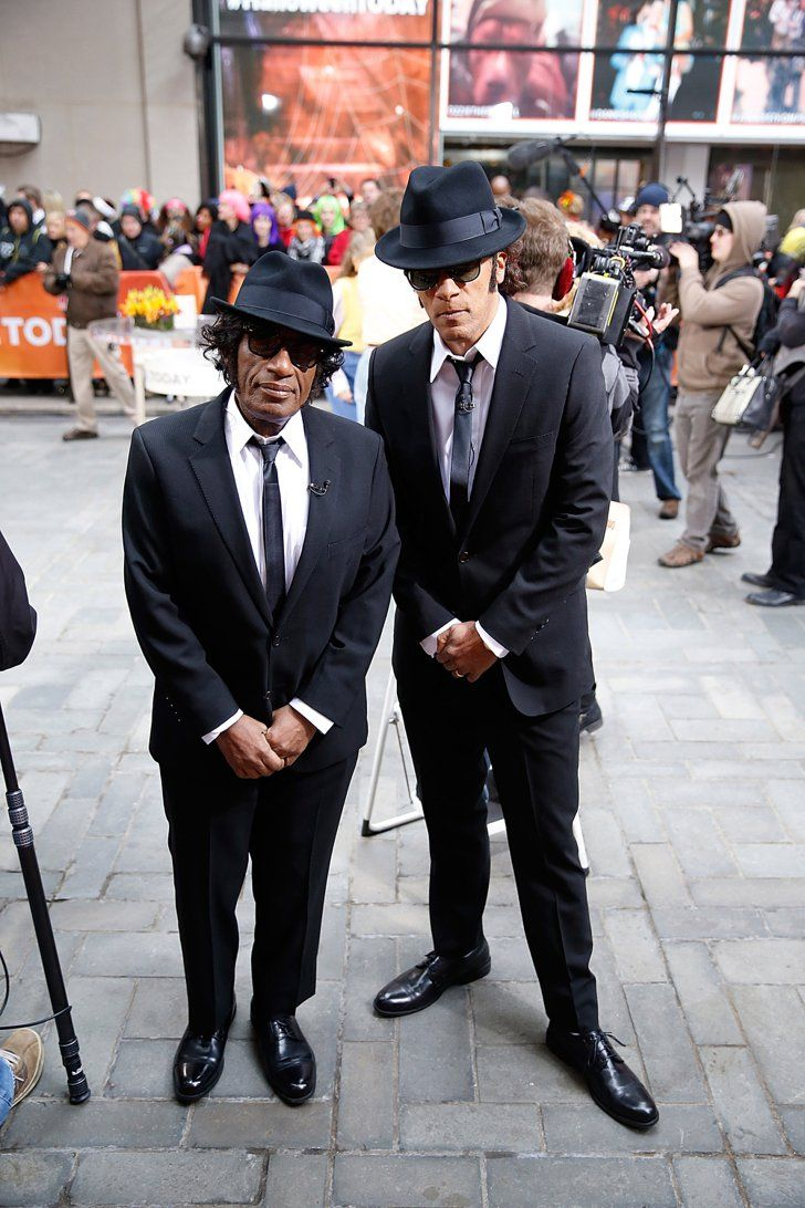 Pin for Later: The All-Time Best Celebrities in Pop Culture Costumes The Blues Brothers The Today gang all rocked Saturday Night Live-inspired getups in 2014. Here's Al Roker and Lester Holt as the Blue Brothers.