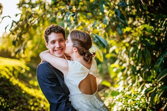 Camila and Rob were married at the Bangalow Guest house..