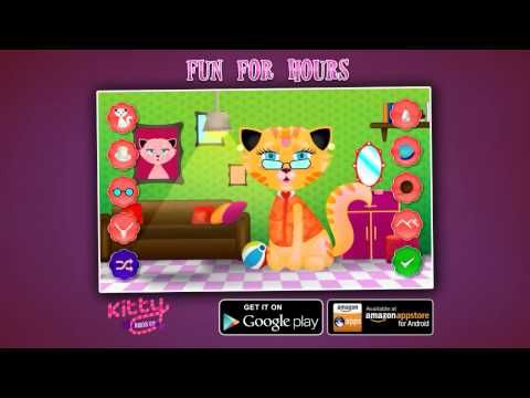 Cute little kitty cats  - dress up game for girls who like kitty cats and are into fashion!
