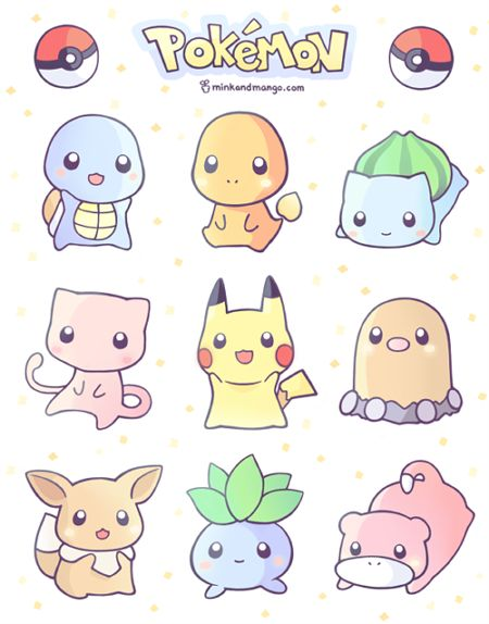 Pokemon stickers! > O < I'll have keychains and stickers in the store in a couple weeks, but you can preorder now. Merry christmas friends!