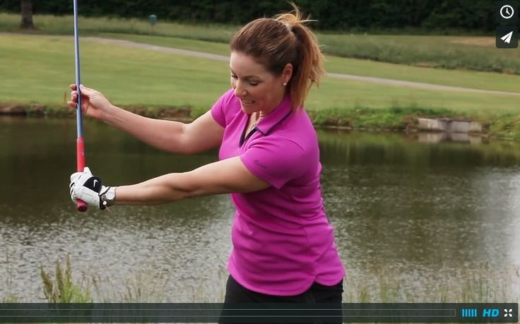If your struggle with when and how to hinge your wrists, here is a drill to help you learn how to start your swing.