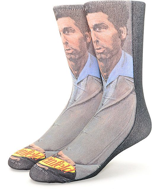 Sport your favorite Seinfeld character on your feet with the Rook and Seinfeld…