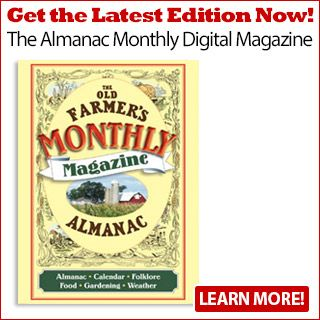 Recipes See our most popular recipes  The Almanac Monthly Digital Magazine