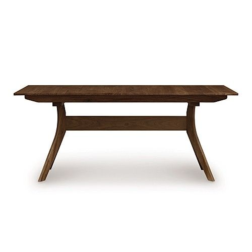 Audrey Trestle Extension Table 66 X 38 Inches
