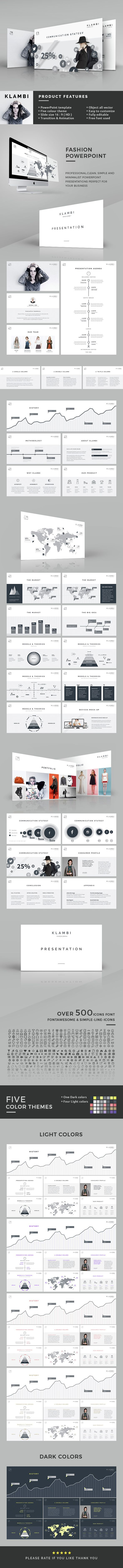 Fashion PowerPoint Template #slides Download: http://graphicriver.net/item/fashion-powerpoint-template/14491503?ref=ksioks