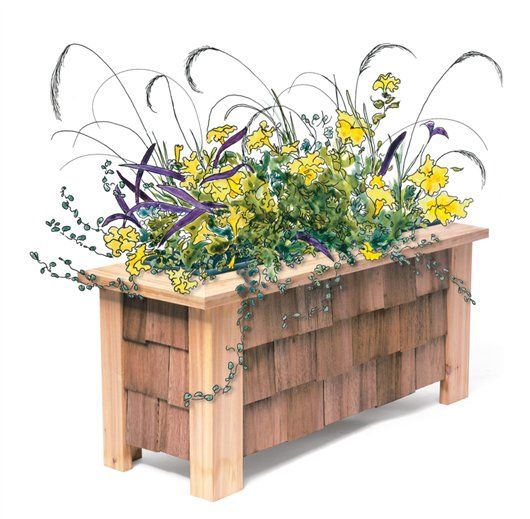 Wooden Vegetable Planter Box Plans - WoodWorking Projects & Plans