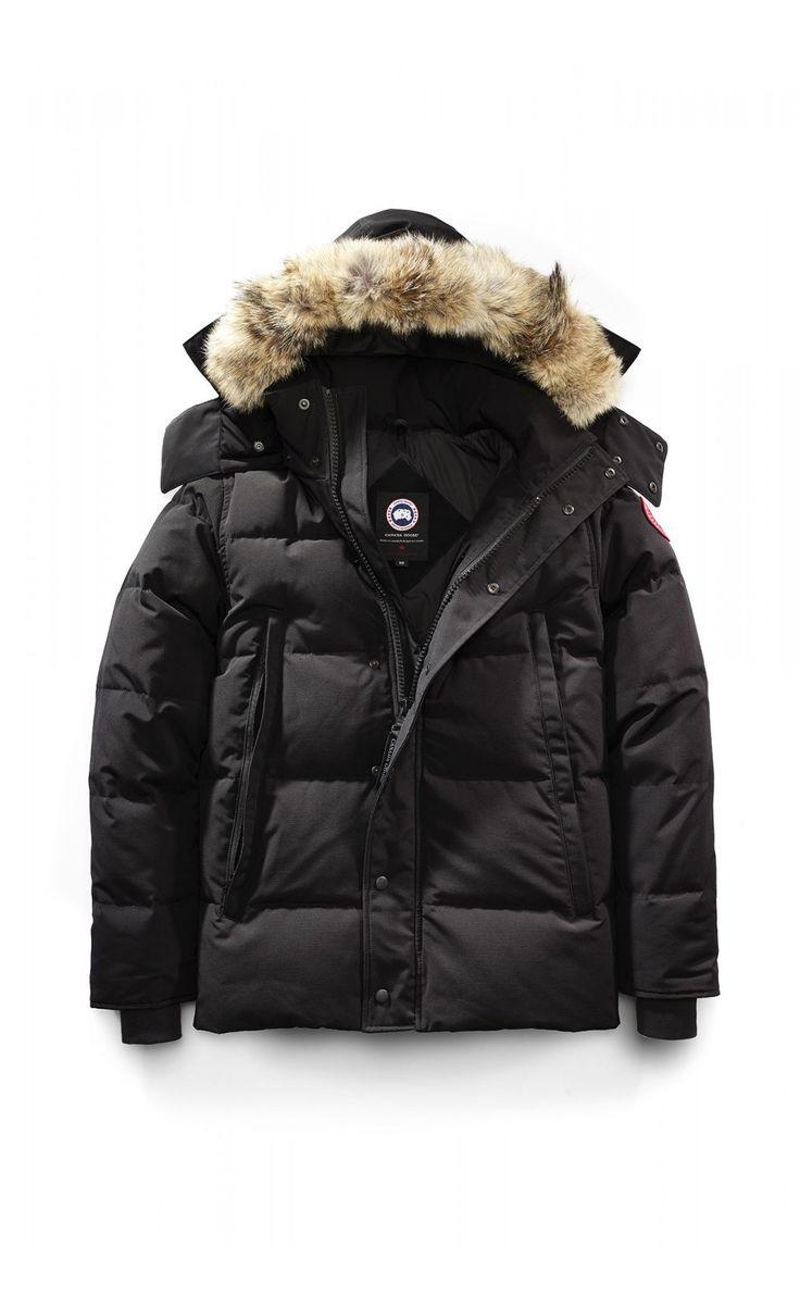 Canada Goose Wyndham Parka Black Men - Canada Goose #canadagoose #parka #jacket #fashion #Halloween #blackFriday