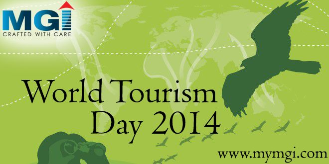 World Tourism Day (#WTD) draws special attention to the role of tourism in contributing to one of the building blocks of a more sustainable future for all and Community development. Happy #WorldTourismDay. www.mymgi.com