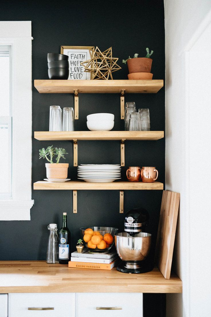 minimalist bohemian kitchen