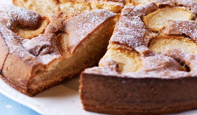 Ronde appelcake #recepten #recipe #kerst #winter #bakken