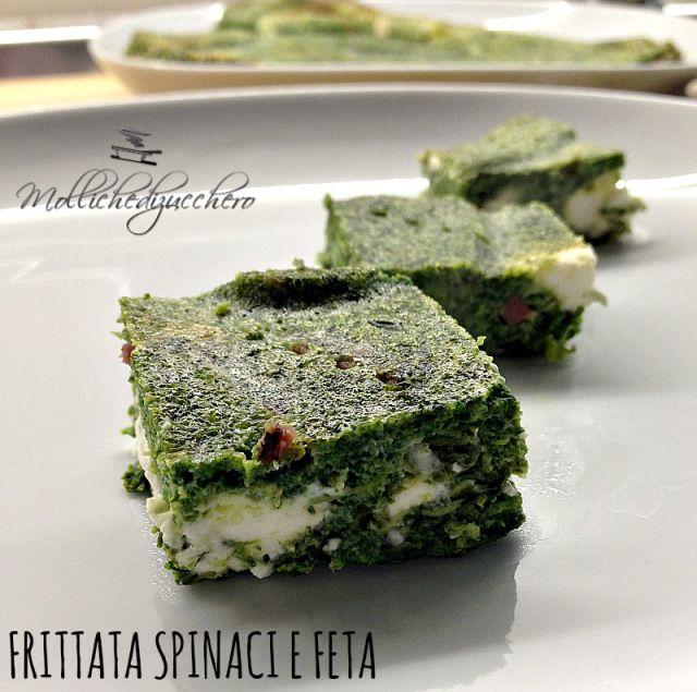frittata spinaci e feta