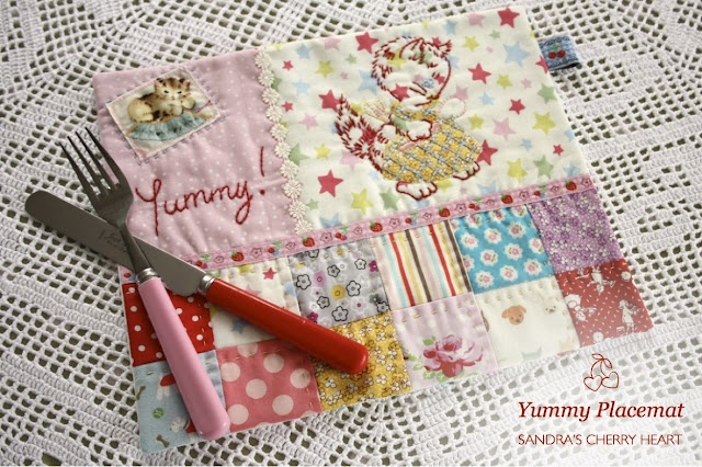 So cute placemat!