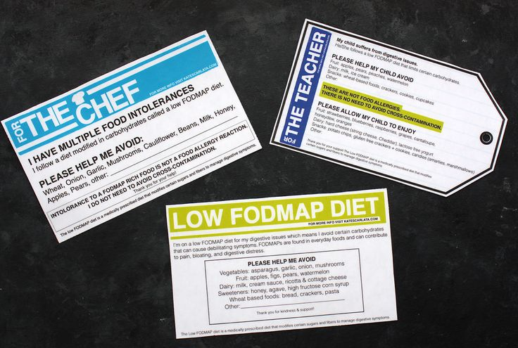 Hello FODMAPers & Friends! During IBS Awareness month, I requested your input about future blog topics…and there was a request to provide a quick and easy way to describe the low FODMAP d…