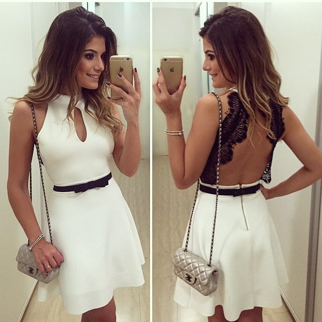 Sexta branca!! Dress by @finnastore ❤️ | #lookdanoite #lookofthenight #ootn…