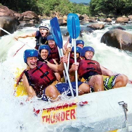 Tully Rafting with Raging Thunder